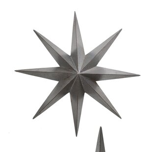 Charmant Metal Star Wall Décor