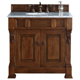 Bargain Brookfield 35 Single Cabinet Vanity Base Only By James Martin Furniture
