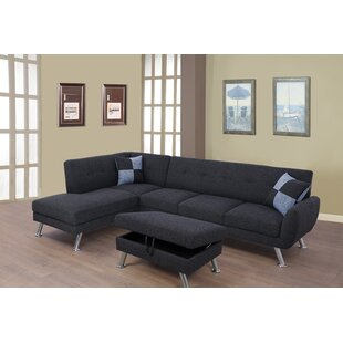 Orren Ellis Bannister Sectional with Otto..