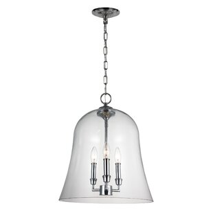 Darby Home Co Harlan 3-Light Cone Pendant