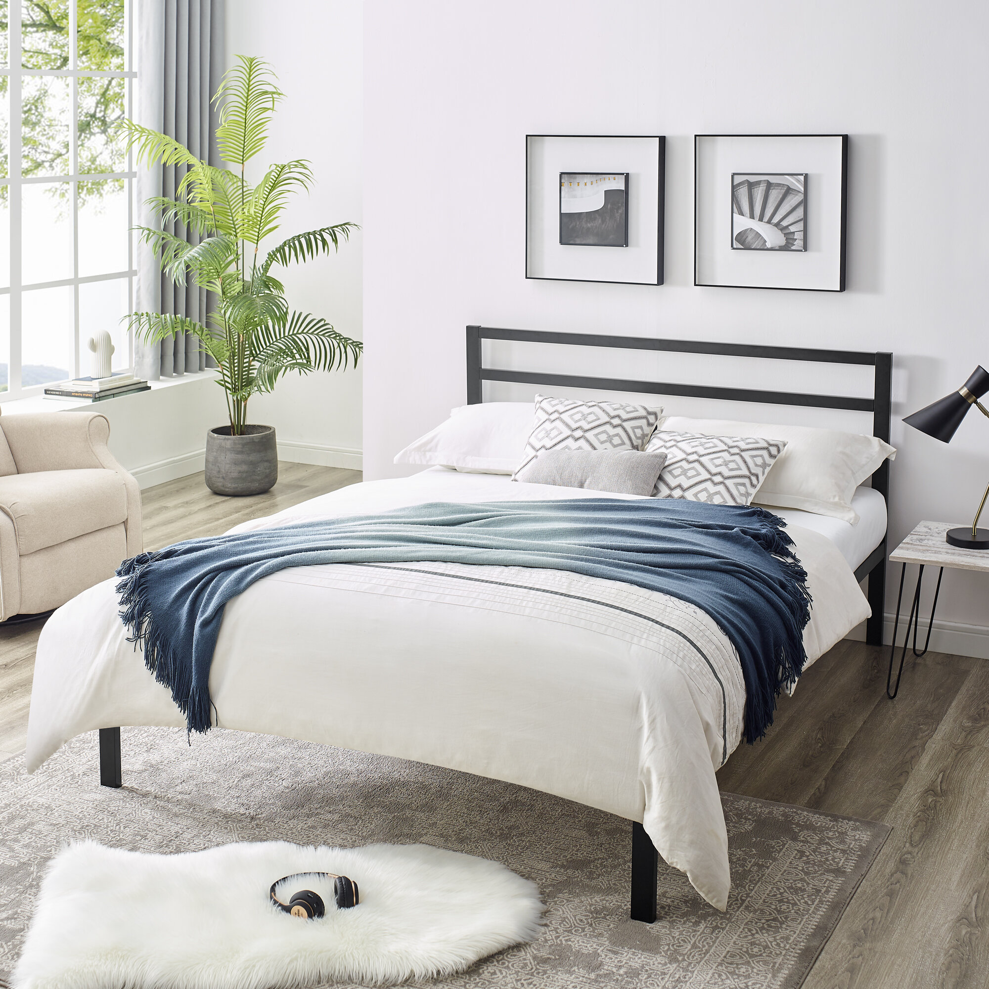 Picture of: White Wood Beds You Ll Love In 2020 Wayfair