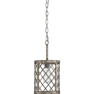Williston Forge Dillion 1-Light Drum Pendant
