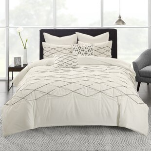 Comeau Cotton 7 Piece Duvet Cover Set
