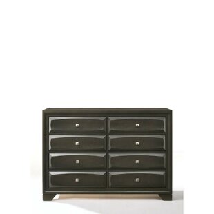 Silvers 8 Drawer Double Dresser