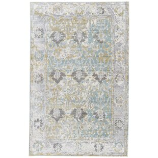 Buy clear Carly Antique White/Tourmaline Area Rug By Ophelia & Co.
