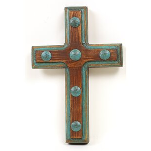 Santa Fe Rustic Cross Wall Decor
