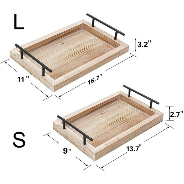 Drolet Serving Tray sizes