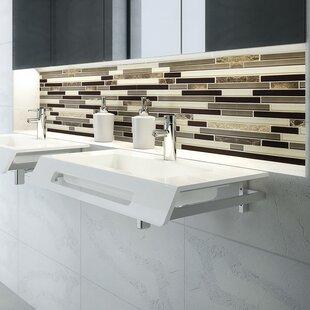 Ellie Solid Surface ADA NULL Rectangular Wall Mount Bathroom Sink
