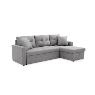Read Reviews Clarke Sleeper Sectional by Ebern Designs Reviews (2019) & Buyer's Guide