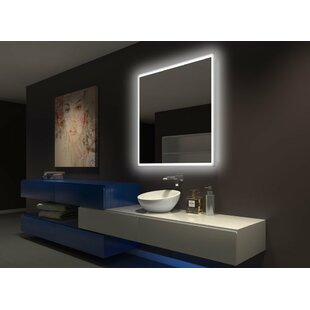 Latitude Run Tempest Backlit Bathroom Mirror