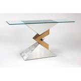 Glass 62.5 Console Table by Artmax