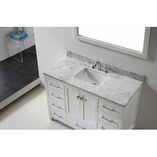Pichardo Contemporary 48 Single Bathroom Vanity Set by Brayden Studio