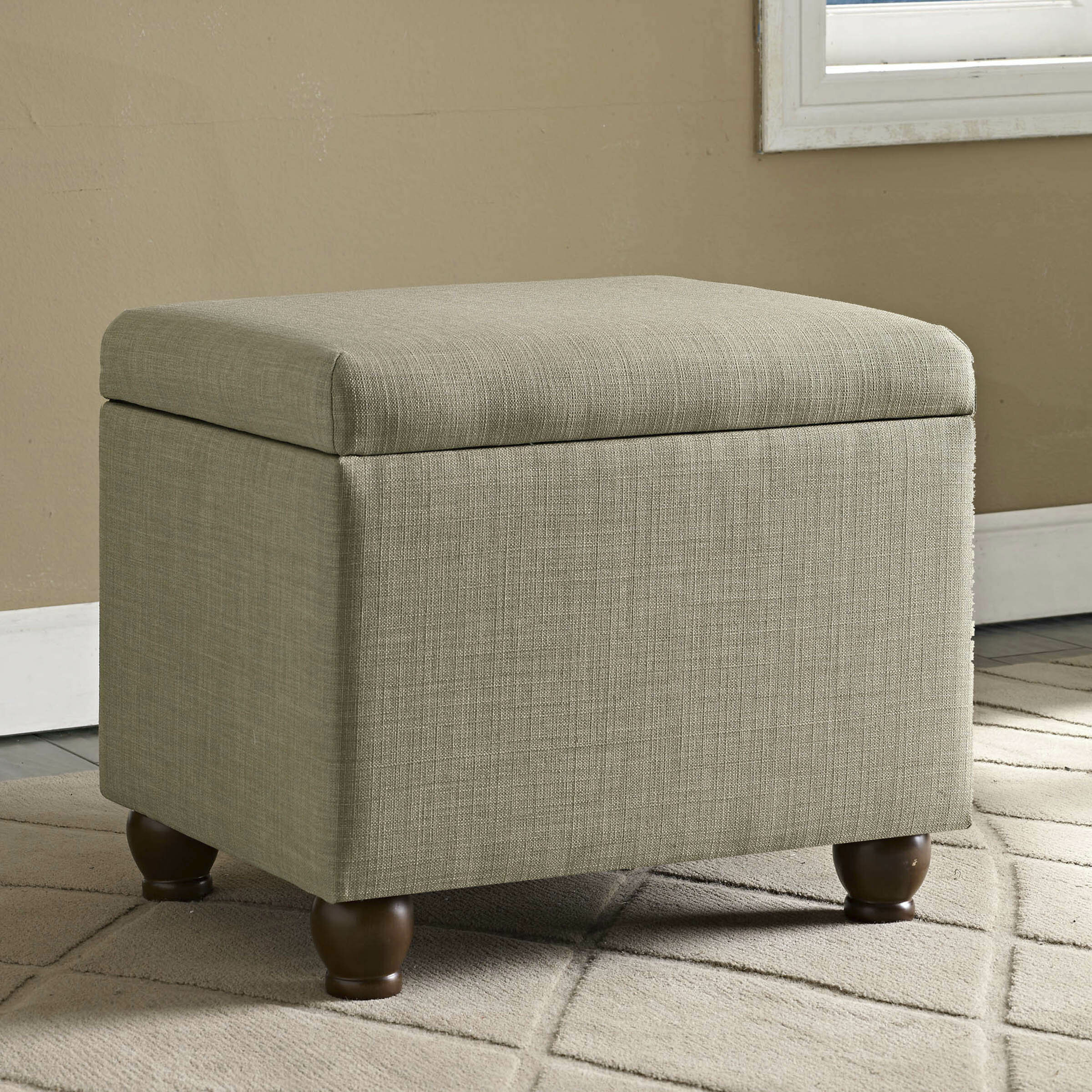 Fantastic Birmingham Storage Ottoman Gmtry Best Dining Table And Chair Ideas Images Gmtryco
