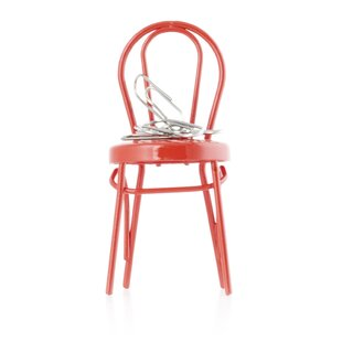 Kikkerland Vienna Chair Paper Clip Holder
