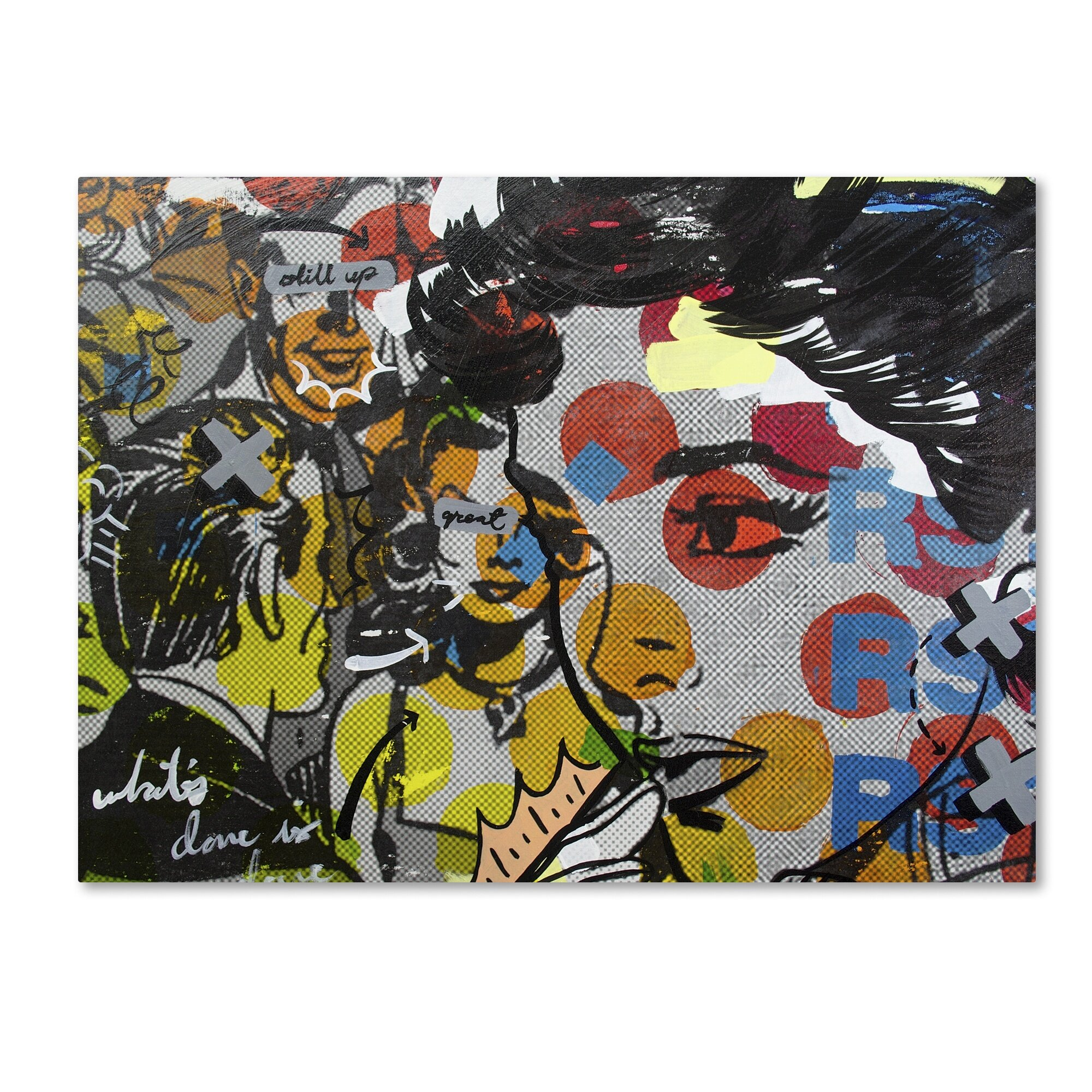 Trademark Art Dinner Pa Graphic Art On Wrapped Canvas On Canvas Wayfair