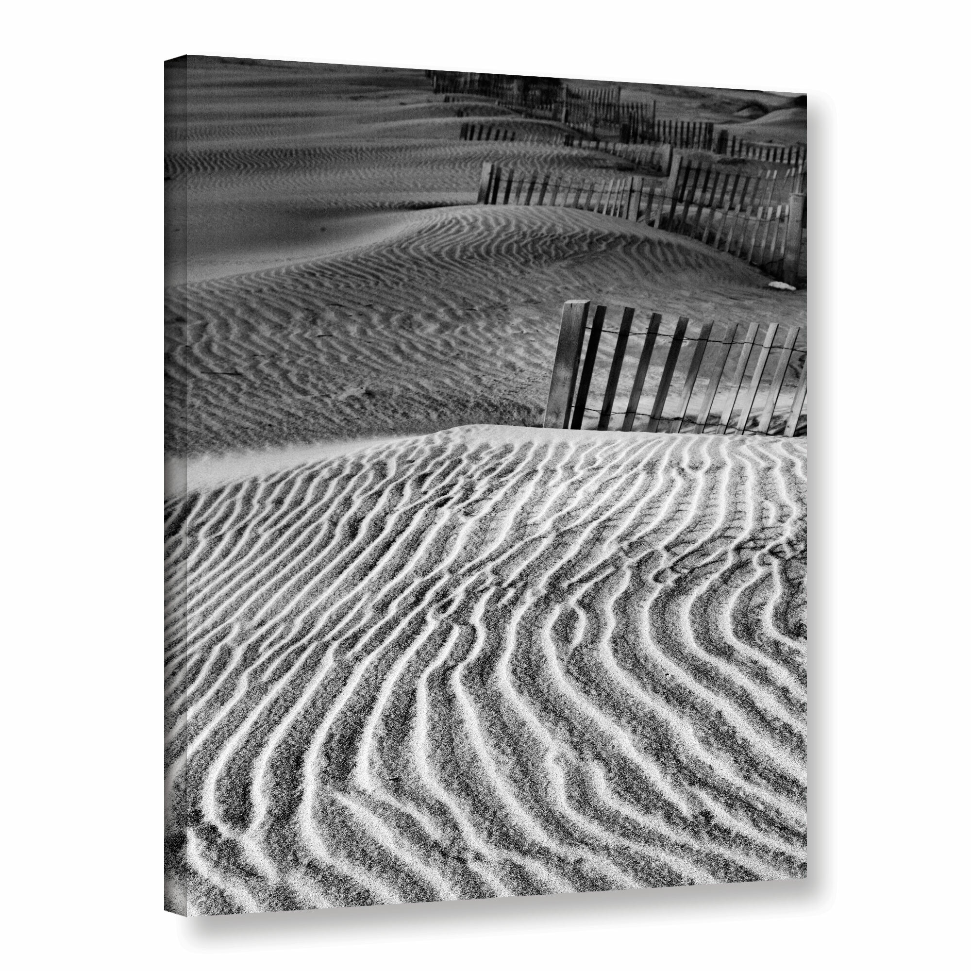 Artwall Dune Patterns By Steve Ainsworth Photographic Print On Wrapped Canvas Wayfair