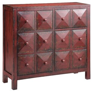Moulin Block Front 2 Drawer Accent Cabinet by Stein World