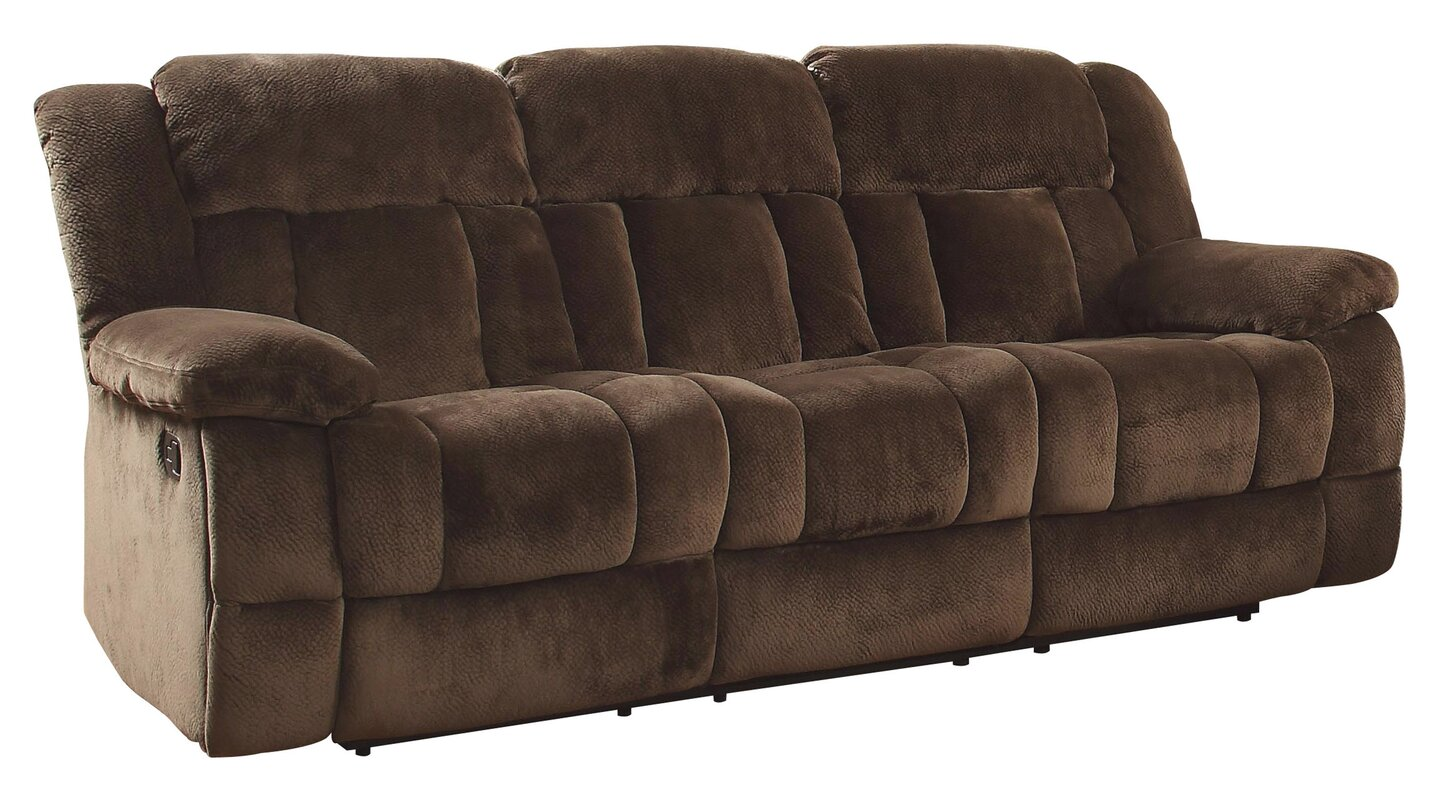 Darby Home Co Dale Double Reclining Sofa Reviews Wayfair
