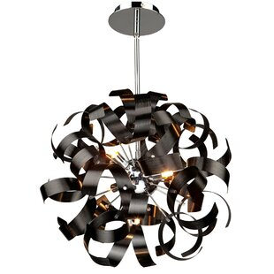 Best Price Juliet 5-Light Globe Chandelier By Wade Logan