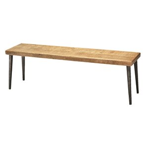 Allenport Wood Bench by Gracie Oaks