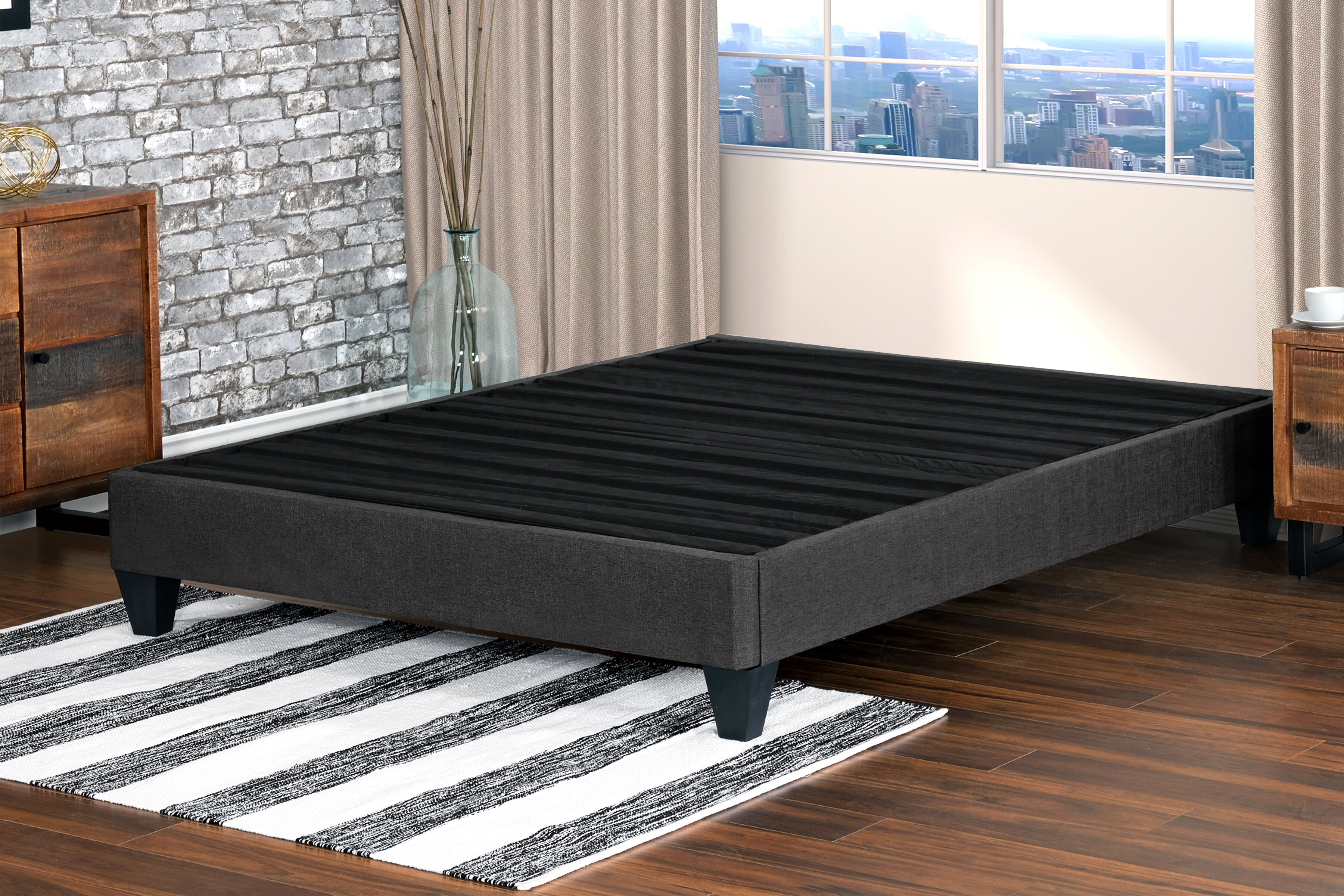 Ivy Bronx Gainesville Bed Frame