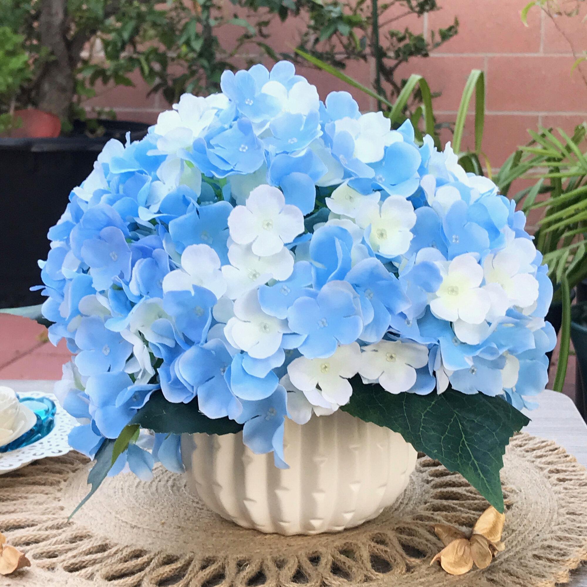 House Of Hampton Artificial Hydrangeas Floral Arrangements And