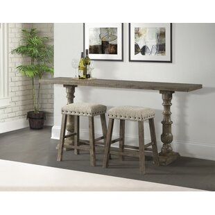 Schweitzer Sofa Pub Table by Gracie Oaks