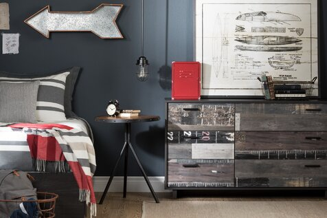 Industrial Kids Bedroom Design