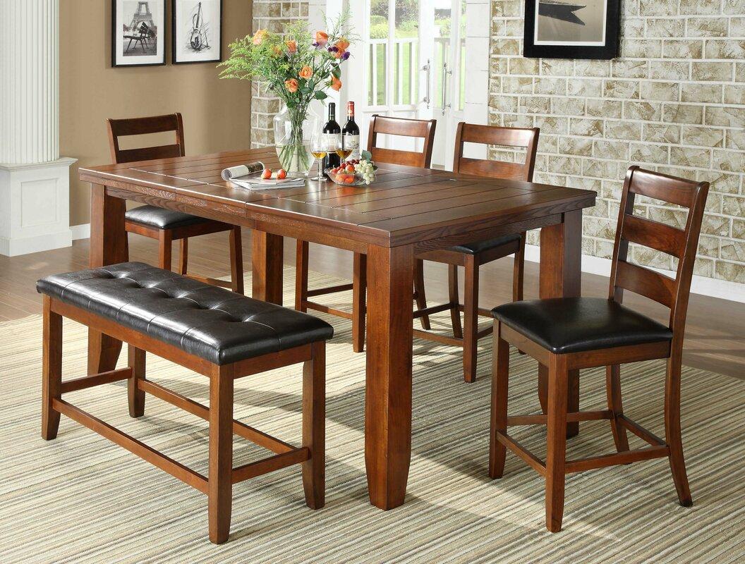 loon peak bridlewood 9 piece dining set u0026 reviews wayfair