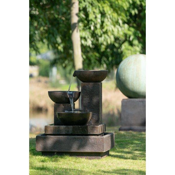 Latitude Run Aqeel Fiberglass Outdoor Fountain Wayfair
