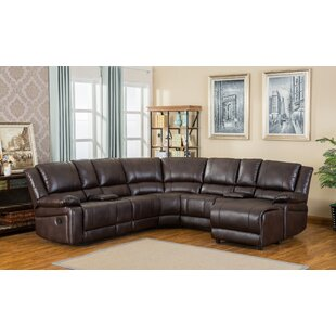 Juno Reclining Sectional by Roundhill Furniture
