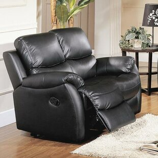 Wildon Home ® Brett Top Grain Leather Re..