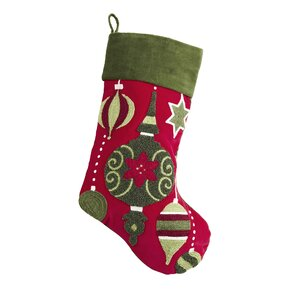 Ornament Tufted Stocking