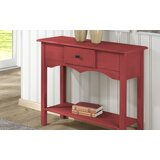 Pinard Solid Wood Console Table by Gracie Oaks