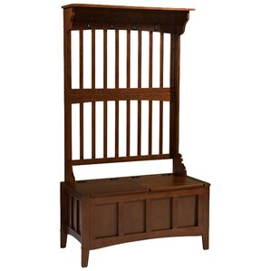 Attractive Alex Hall Tree With Storage Bench