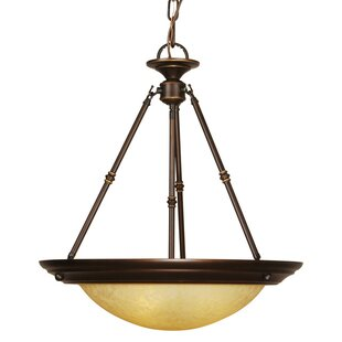 Mariana Home Loft 3-Light Bowl Pendant