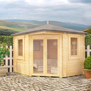 Bengal Corner 10 X 10 Ft. Tongue And Groove Log Cabin By Tiger Sheds