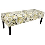 Idell Ikat Upholstered Bench by Red Barrel Studio®