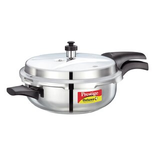 Deluxe 4.23-Quart Stainless Steel Senior Pressure Pan