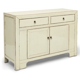 Gracie Oaks Bladon 2 Drawer Accent Cabinet