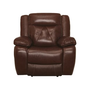 Gascon Leather Manual Recliner