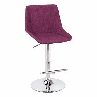 Adjustable Height Bar Stool by Adeco Trading