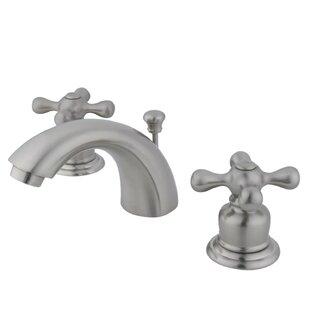Kingston Brass Victorian Widespread Bathroom..
