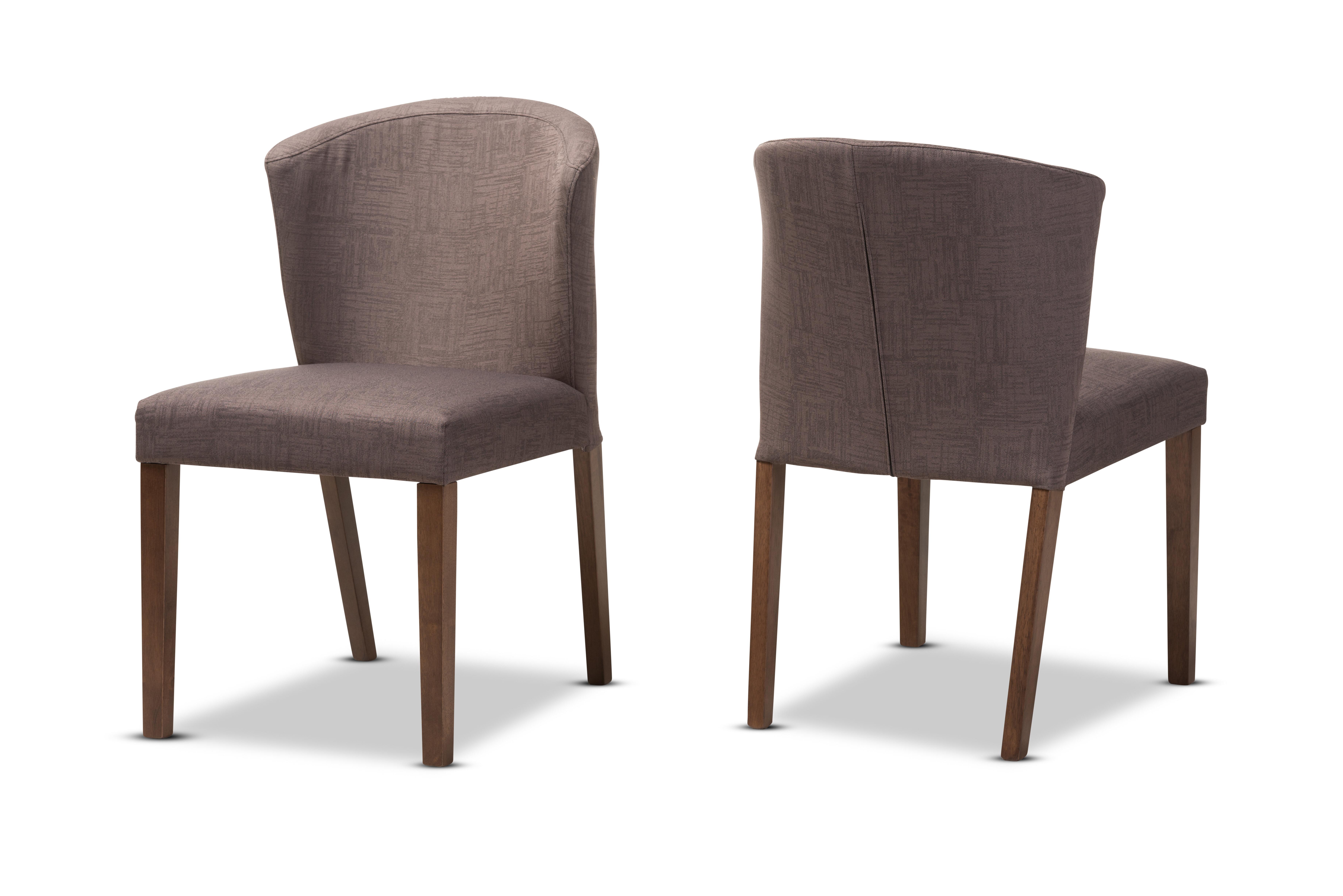 Brayden studio stalnaker mid century modern upholstered dining chair wayfair