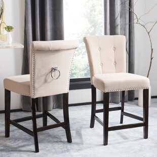 Prater 26 Bar Stool with Cushion (Set of 2)