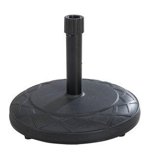 Pequoig Plastic Free Standing Umbrella Base by Canora Grey Best #1