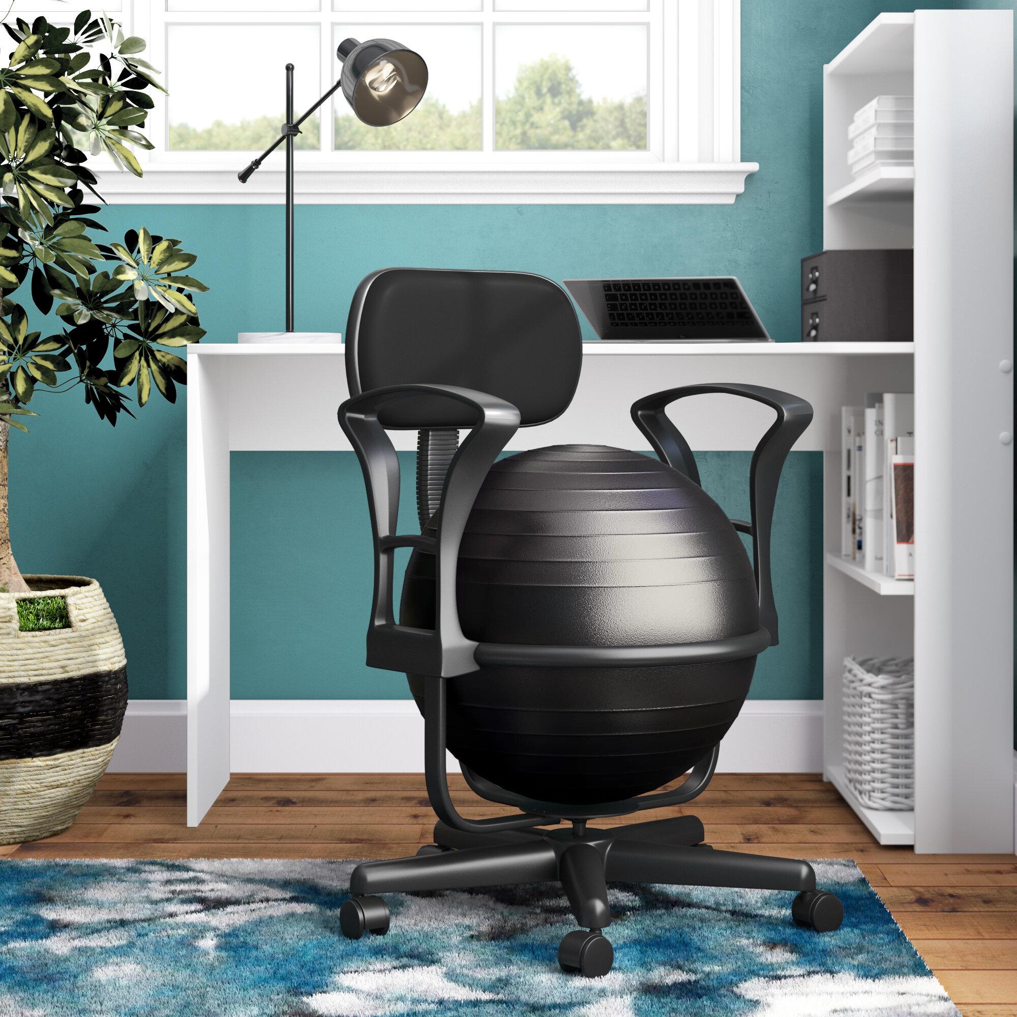 Phenomenal Symple Stuff Exercise Ball Chair Reviews Wayfair Inzonedesignstudio Interior Chair Design Inzonedesignstudiocom