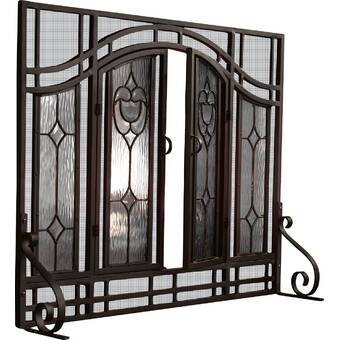 Tremendous Plow Hearth Tree Of Life Single Panel Iron Fireplace Home Interior And Landscaping Ologienasavecom