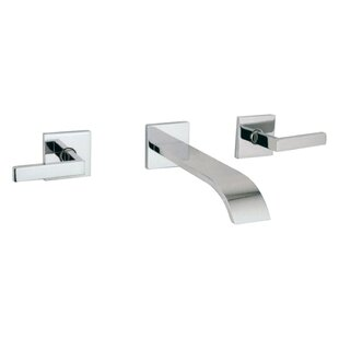 Rohl Wave Wall mounted Bathroom Faucet with Drain Assembly