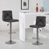 Achorn Swivel Adjustable Height Bar Stool (Set of 2) by Latitude Run